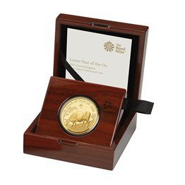 Lunar Year of the Ox 2021 One Ounce Gold Proof Coin