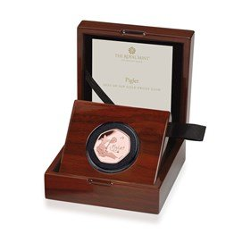 Piglet 50p Gold Coin