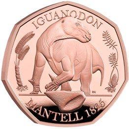 Gold Proof Iguanodon 2020